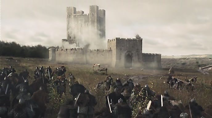 Железный воин - кадр из фильма - замок