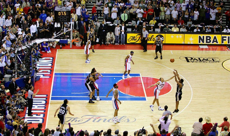 NBA Finals 2005 Detriot Pistons