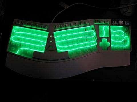 Как сделать подсветку для клавиатуры