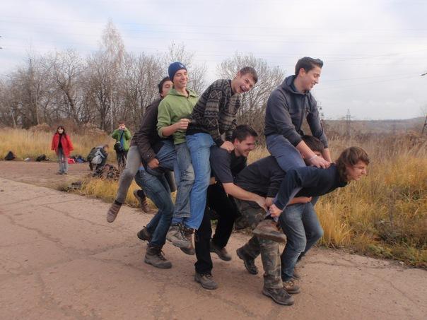 Злостные нарушители ТБ или игра слон:)