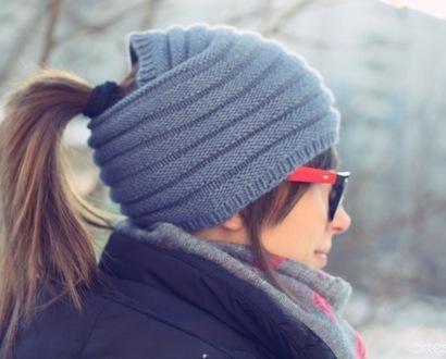 Вязаная повязка на голову своими руками.