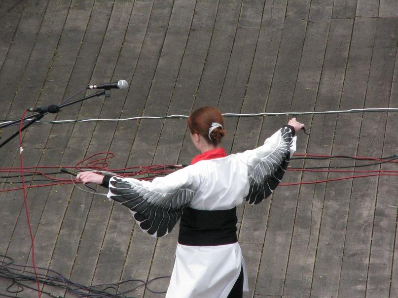 Как сделать костюм птицы с крыльями