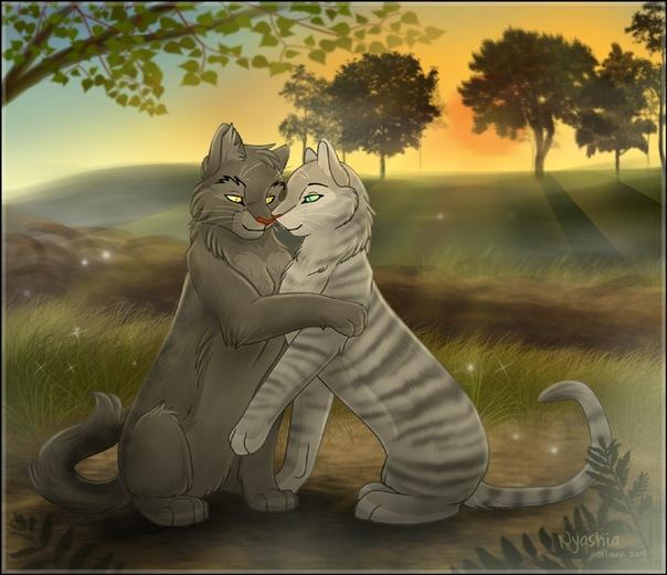 картинки аниме котов: