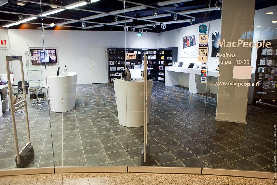 Финляндия Apple Store Tax Free