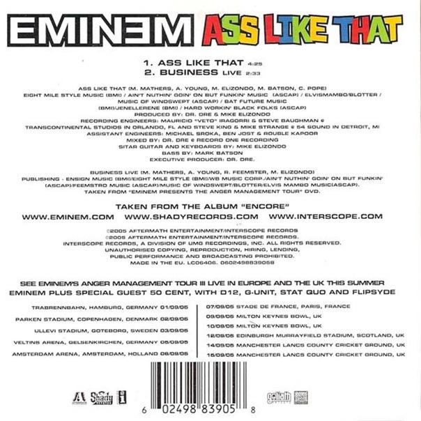 Eminem - A** Like That - YouTube