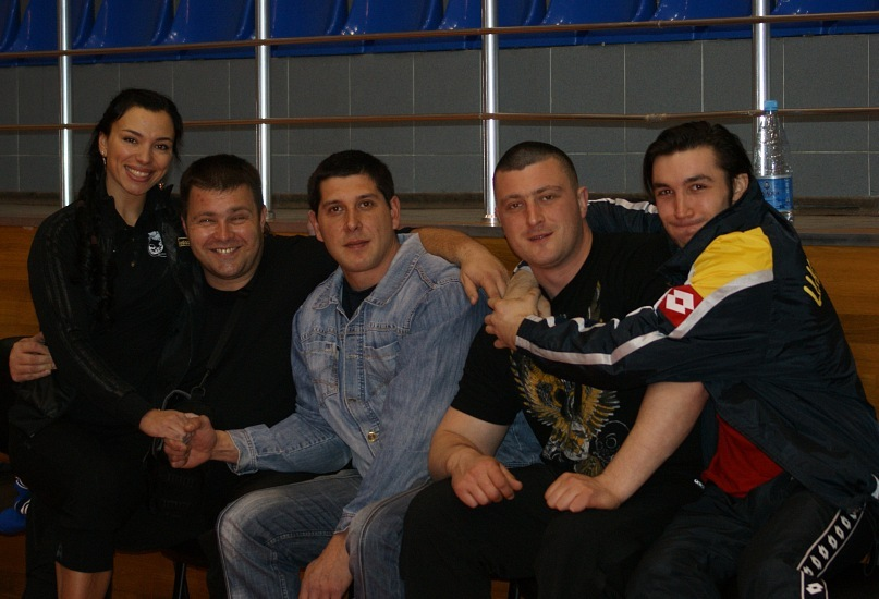 Natalya Truskalova, Andrey Sharkoff, Taras Ivankin, Andrey Pushkar, Evgeny Prudnik - Championship of Ukraine 2011