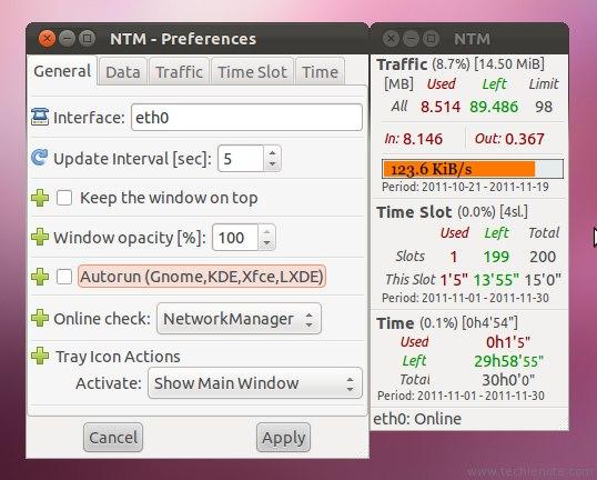 Мониторинг интернет трафика в Ubuntu