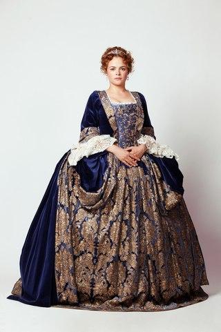Женское историческое платье