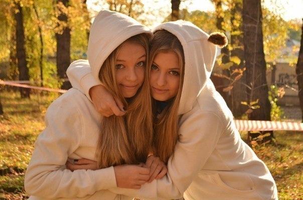 Фото близнючок. Українські статуси