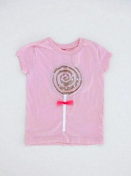 Фото как украсить детскую футболку