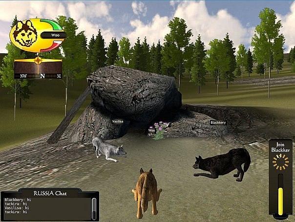 Онлайн ролевая игра волки ролевая онлайн игра в стиле ф
