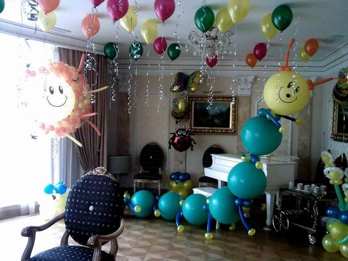 Детский праздник оформление дома своими руками