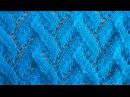 Ажурный узор Косичка Вязание спицами Видеоурок 37