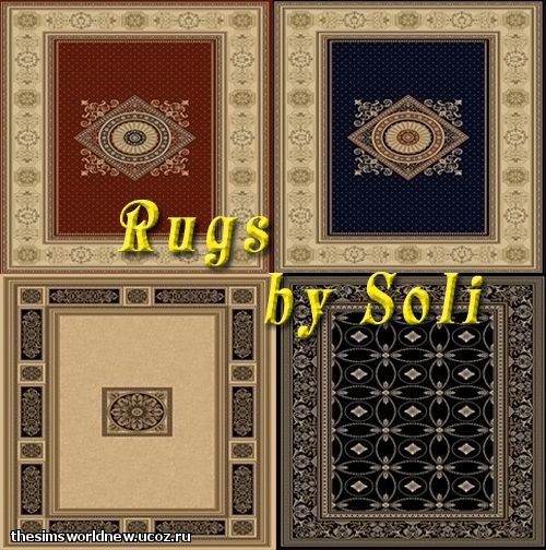 New Rugs by Soli