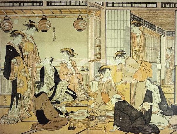 Тории Киёнага (яп. 鳥居清長, 1752—1815) — японский художник, мастер периода расцвета укиё-э из династии Тории. О жизни Тории Киёнаги осталось мало сведений. Его настоящее имя — Сэки (Сэкигути)