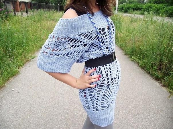 Вязание на спицах зимних вещей для полных женщин