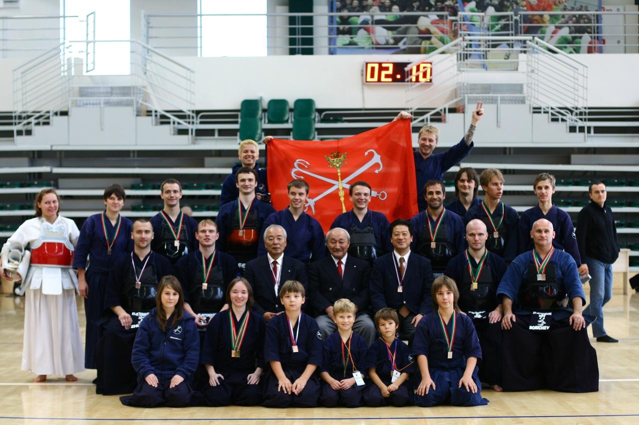 XIV Чемпионат России по Кендо