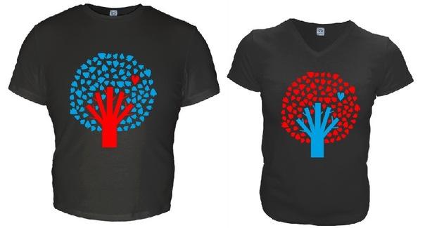 10 баллов из 10. на основе более. футболки для двоих продажа.