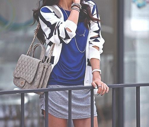 сумка, синий, chanel, мода, девушка - картинка 27165 на Favim.ru.