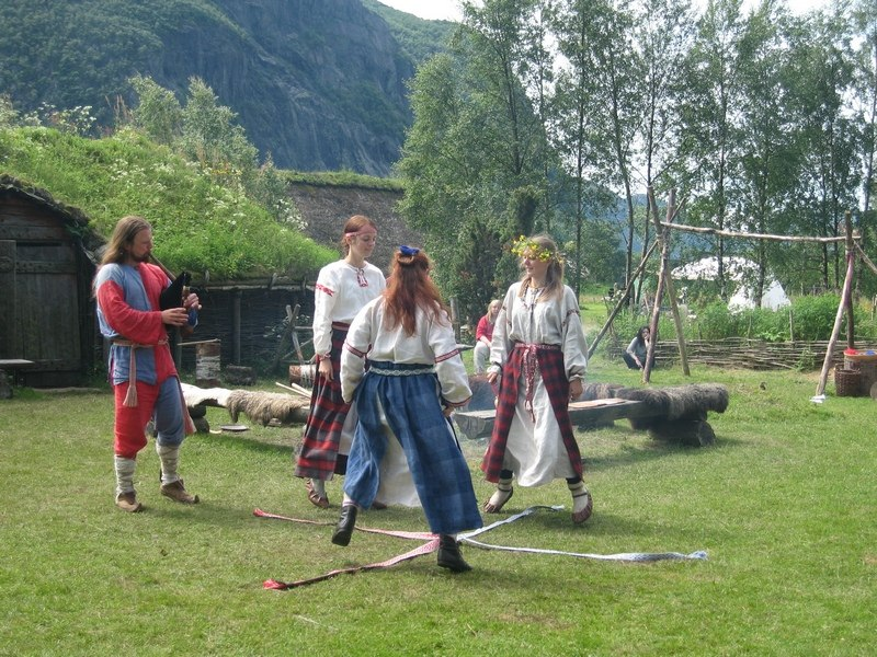 Norway: our anther event (we are partners): Public Ancient Entertainment Workshop for Norwegians. 2010