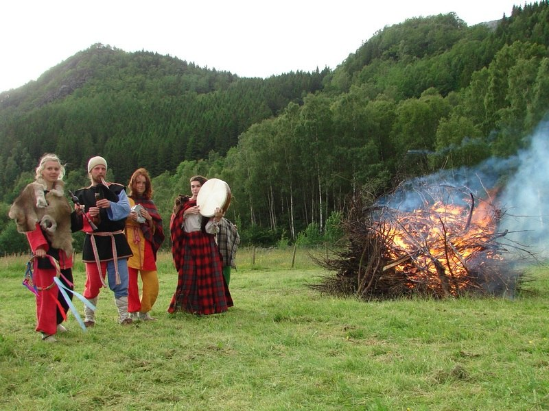 Our organization as a participant of Youth Project in Norway: Celebrating the Midsommer in 2012