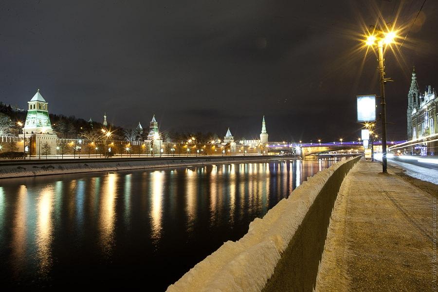Москва зима новый год