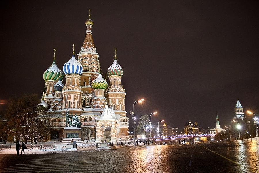 кремль зимой