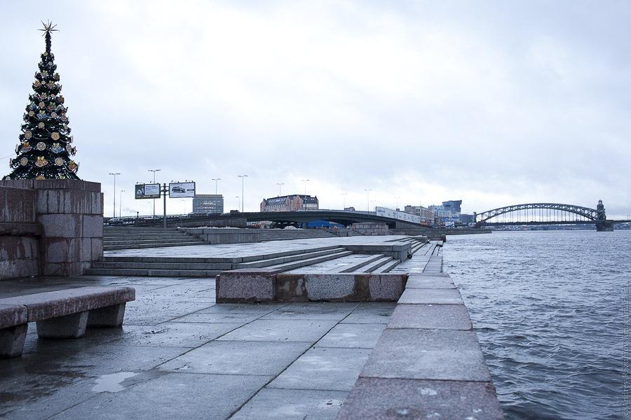 Зима без снега Петербург