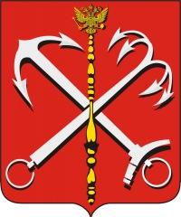 Герб Санкт-Петербурга (Питера).  Coat of Arms of Saint Petersburg (Peter) .