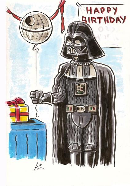 Поздравления с днем рождения от звёздных войн 978