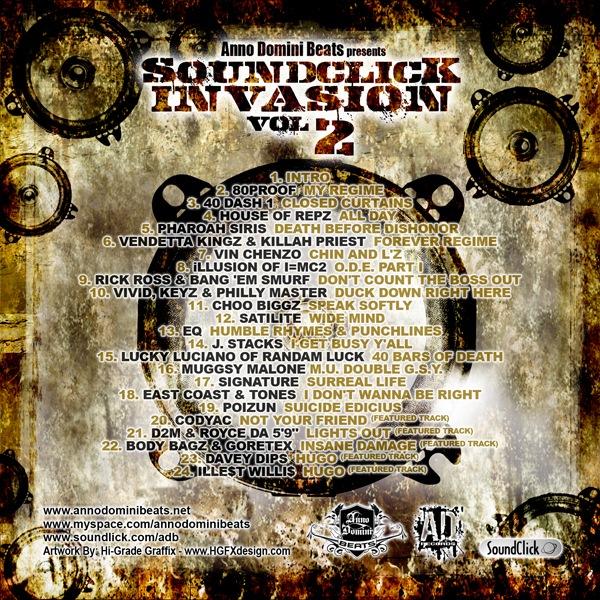 Anno Domini Beats (2009) - Soundclick Invasion Vol. 2