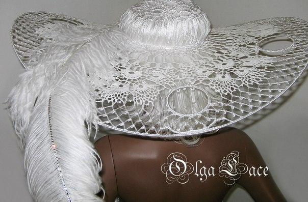 钩针凉帽(14) - 柳芯飘雪 - 柳芯飘雪的博客