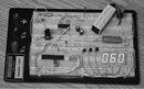 Схема измерителя пульса состоит из двух частей: аналоговой - это операционный усилитель, который производит усиление...