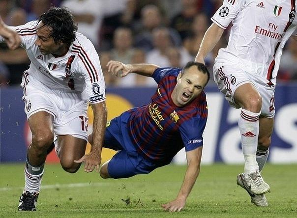 Барселона 2:2 Милан