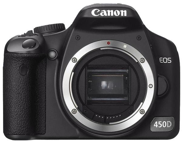 Canon EOS 450D body.