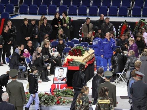 В Ярославле похоронили Александра Галимова ФОТО.
