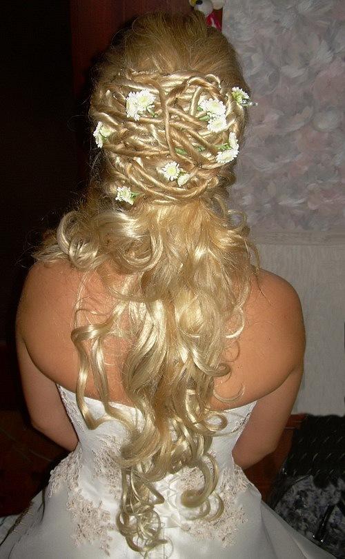 Фото свадебные прически с нарощенными волосами