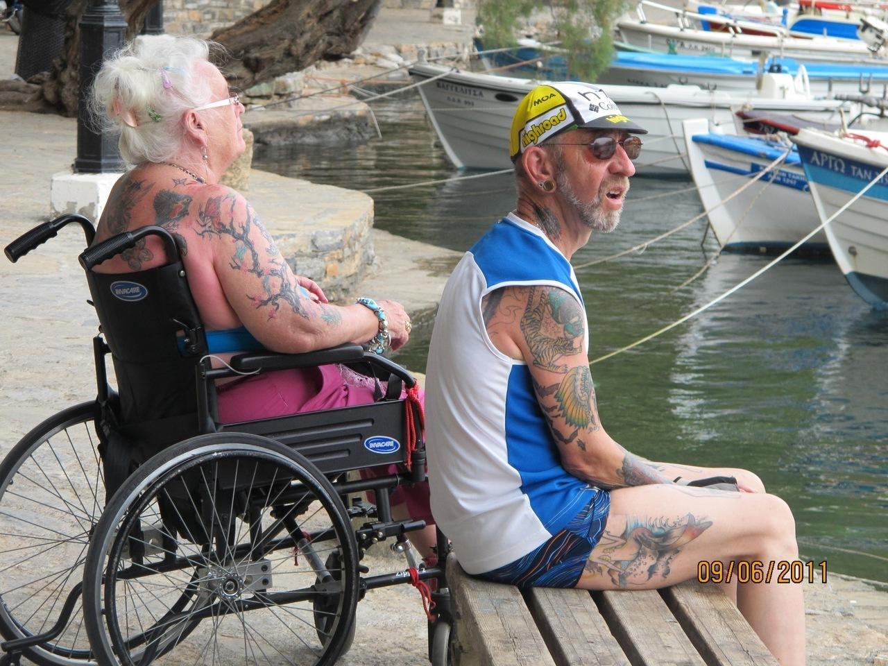 Секс в инвалидных колясках 18 фотография