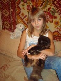 Анастасия Воробьёва, 25 сентября 1996, Тверь, id117495493