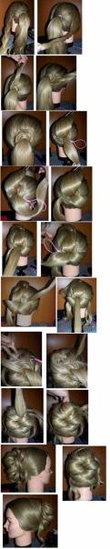 Прически с помощью петли для волос фото