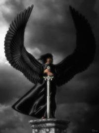 фото ангел тьмы