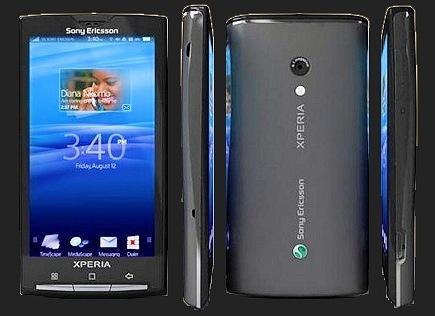 Ericsson.  X10.  АКБ, зарядное устройство.  Комплектация.