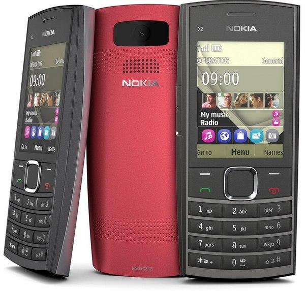 Nokia x2-02 series 40 телефоны nokia.