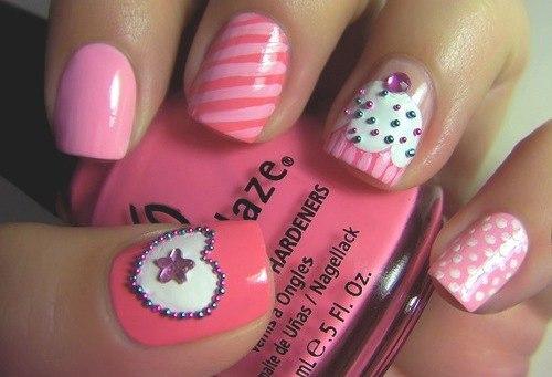 Дизайны ногтей к 8 марта фото