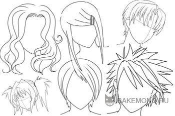 картинки аниме девушек карандашом для срисовки