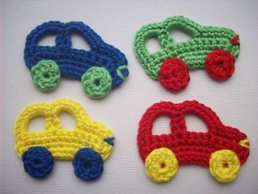 Ubicacion Marcador Logo Material De Imagen Creativo: Delicadezas En Crochet Gabriela: Apliques Para La Ropa De
