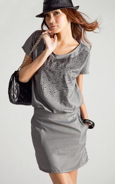 Новое платье Smart Casual - на изящную девушку из-за границы 1шт!