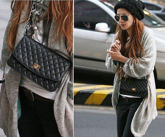 Черная сумочка на цепочке, абсолютно новая вещь ,всего 100 грн!!! в...