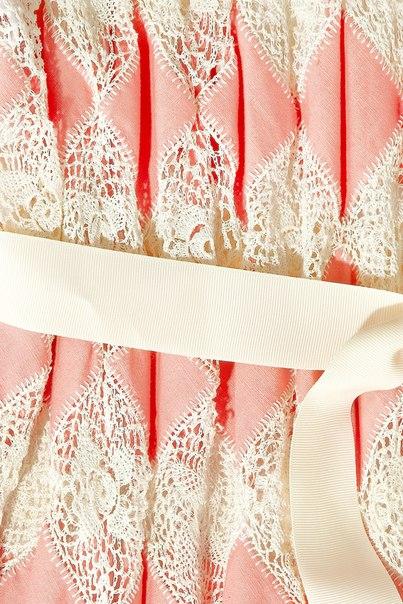 钩编结合连衣裙(126) - 柳芯飘雪 - 柳芯飘雪的博客