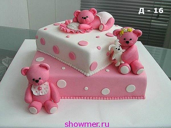 дизайны детских тортов с фото